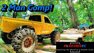 RC Crawler 2 Man Comp At Big Buddhas RC Ranch Traxxas Axial Redcat And More