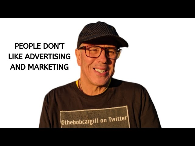 People Don't Like Advertising and Marketing