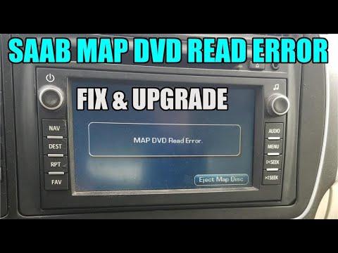 Saab Navigation Disk Read Error Fix (Part 2 Saab Nav Install)
