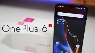 OnePlus 6T - Unboxing, Setup and First Look