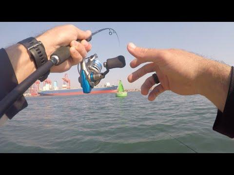 Fishing Durban Harbour's Sandbanks !! South Africa, KZN.