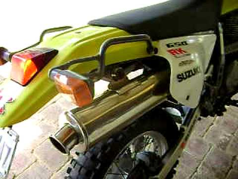 DR650 staintune exhaust