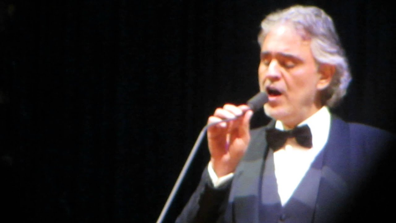 Andrea Bocelli New York New York December 17 2014 Youtube
