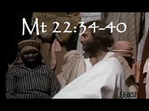 Mt 22 34 40