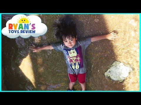 PLAYTIME at the PARK and Life Size Dinosaur train ride for kids