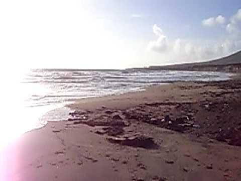 Hurricane Erika (possibly) at Sint Eustatius, Zeelandia Beach