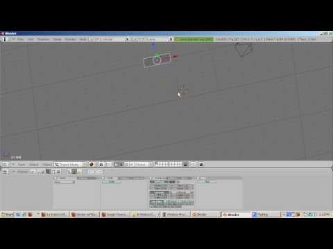 Ira Krakow's Blender 2 49b Soft Bodies Tutorial - Видео онлайн