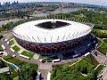 Stadion PGE Narodowy W Warszawie Z Lotu Ptaka