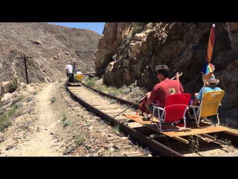 Railriders on the Carrizo Gorge Railway part 1