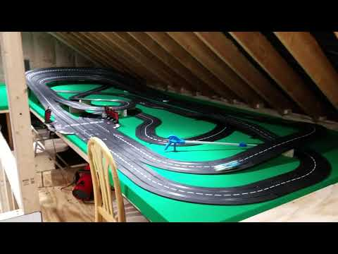 Carrera slot car track  » new layout «