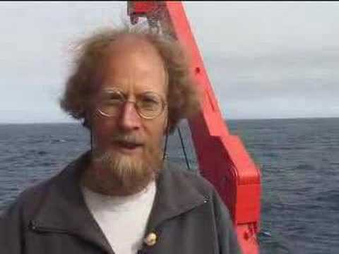 On board the German research vessel Polarstern