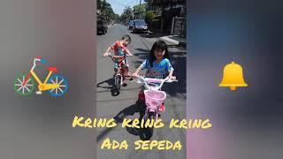 Kring kring kring ada sepeda