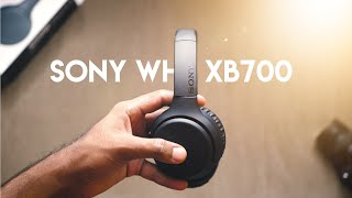 Extra BASS wireless headphones! Sony WH XB700 Review!
