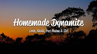 Lorde - Homemade Dynamite (Lyrics) ft. Khalid, Post Malone & SZA