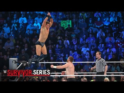 The Miz vs. Sami Zayn - Intercontinental Title Match: Survivor Series 2016 on WWE Network