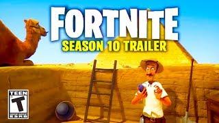 Fortnite Season 10 Trailer! (FORTNITE SEASON 10) Fortnite Season 10 Official Trailer