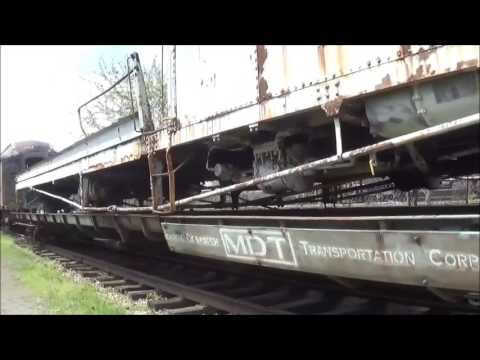 Touring the National New York Central Railroad Museum in Elkhart IN