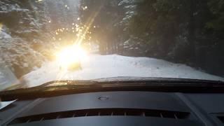 Renault Megane II 2008 snow test - 2018