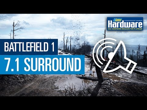 Battlefield 1 mit virtueller 7.1-Surround-Abmischung / Referenz-Klasse-Sound (60 FPS)