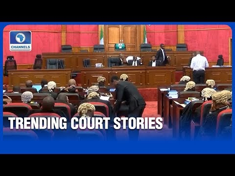 Trending Stories From The Courtrooms