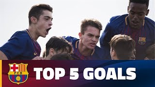 FCB Masia - Academy: Top 5 goals (25 - 26 November)