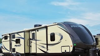 AWESOME 36' 2017 Keystone Bullet Premier 34BHPR 3-Slides Sleeps 10!!