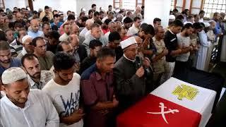 جنازة الشهيد مجند محمد حسن حميد السيد أبن الاسماعيلية شهيد الحادث الارهابى بسيناء