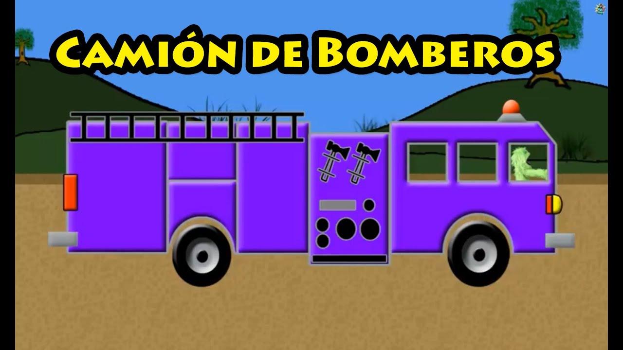 Vids4Ninos - Colores camión de bomberos para niños - YouTube
