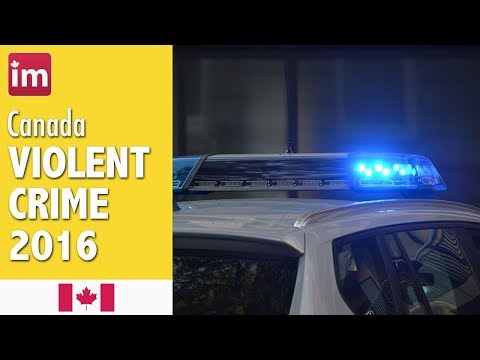 Crime In Canada - Crime Rates In Canadian Cities