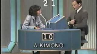 $20,000 Pyramid 1978 - Didi Conn & Fred Grandy - Part 1