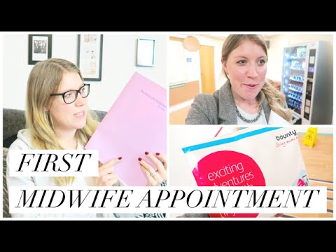 FIRST MIDWIFE APPOINTMENT - 10 WEEKS PREGNANT