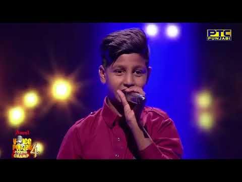 Rohit Kumar   Soniye Je Tere Naal   Studio Round 01   Voice Of Punjab Chhota Champ 4   PTC Punjabi 1