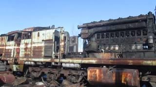 Демонтаж локомотивов(ООО