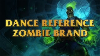 Zombie Brand Dance Reference - Michael Jackson - Thriller