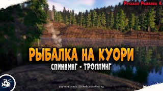 Рыбалка на озере Куори Driler Русская Рыбалка 4