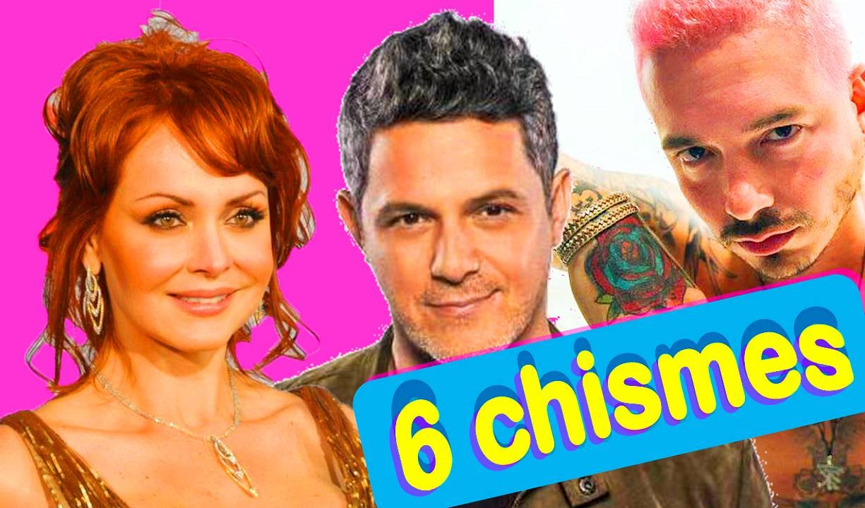 6 chismes de famosos noticias de espect culos youtube