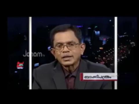 Biggest slap to Shani Prabhakar by T G Mohandas. thumbnail