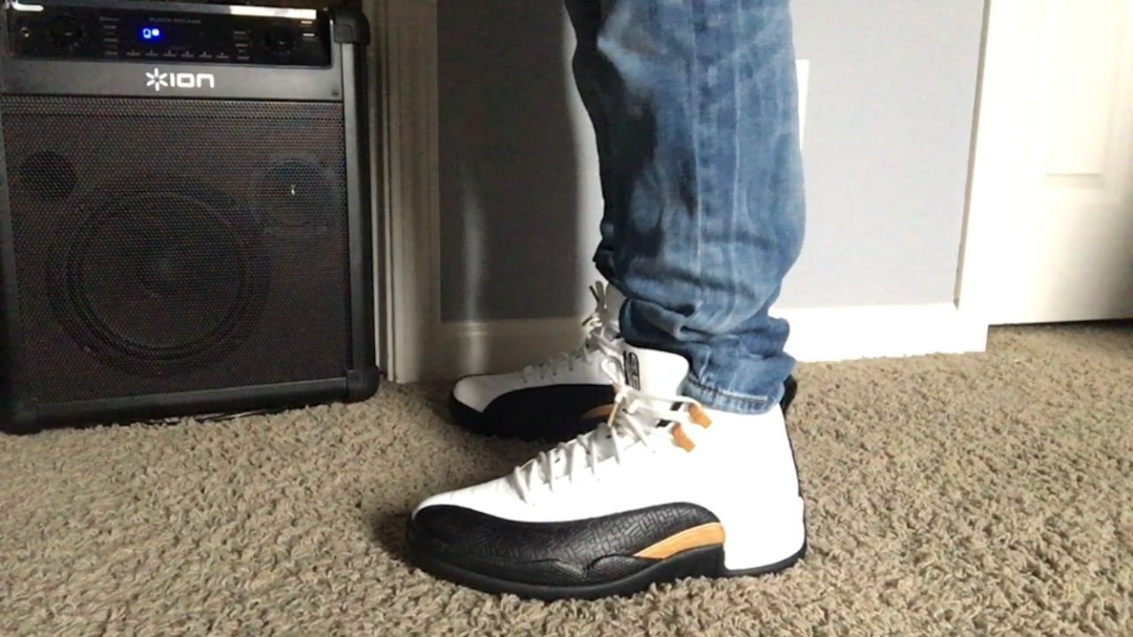 Jordan Retro 12 Chinese New Yearstaxi On Foot Review Youtube