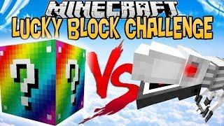 RAINBOW LUCKY BLOCK VS T-R3X 1000 !   LUCKY BLOCK CHALLENGE  [FR]