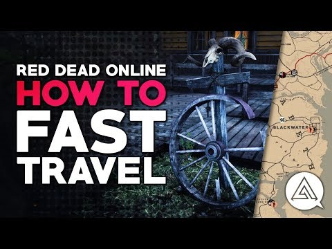 Red Dead Online | How to Fast Travel (Red Dead Redemption 2)