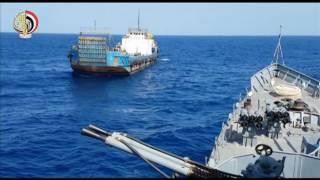 القوات البحرية تحبط إدخال شحنة من المواد المخدرة إلى مصر
