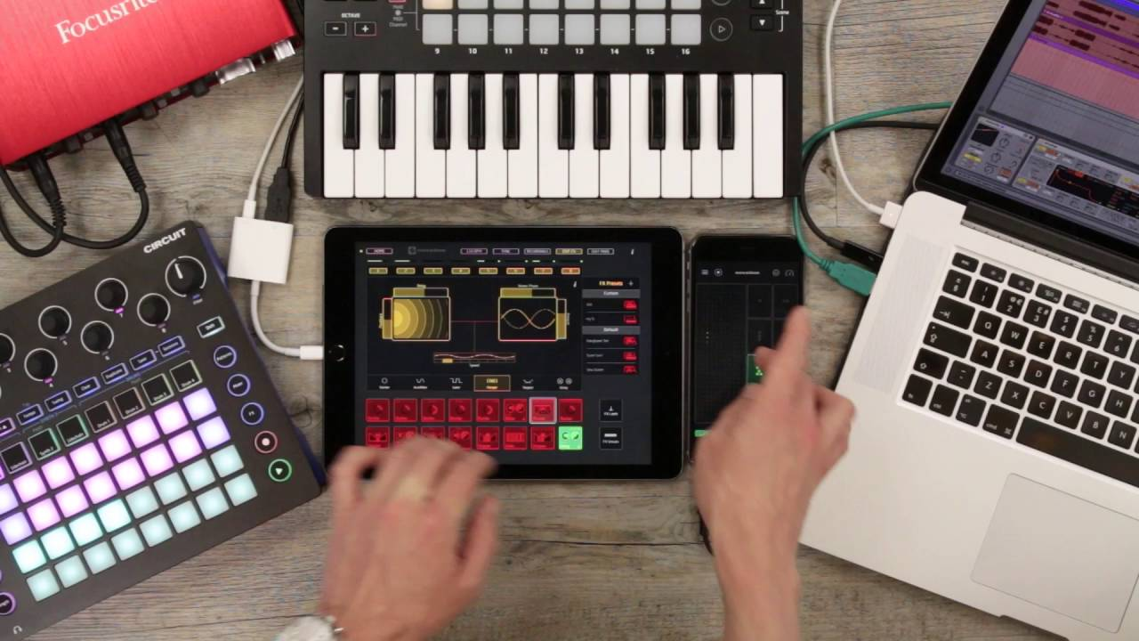 6591a63fc3d Launchpad for iOS x Blocs Wave    Ableton and Circuit Jam - YouTube