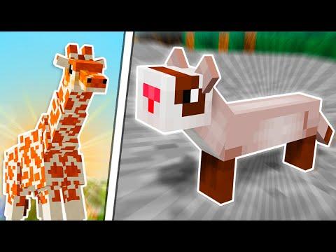 🐶5 PET MODS for MINECRAFT *1.12 - 1.15*🐽Kaynak: YouTube · Süre: 12 dakika12 saniye