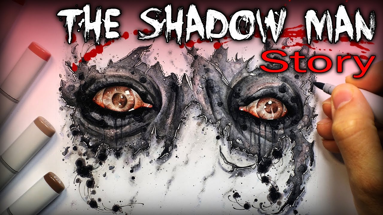 Interactive Anime Wallpaper The Shadow Man Story Creepypasta Drawing My Own
