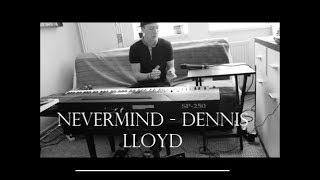 Nevermind - Dennis Lloyd - Piano Cover - Loopstation ( Boss RC-1)