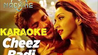 Tu Cheez Badi Hai Mast Mast (Machine) -KAROKE SONG-Udit Narayan And Neha Kakkar