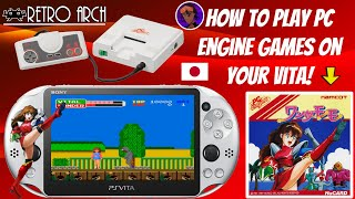How To Play PC Engine/Turbografx Games On Your PS Vita With RetroArch! 🕹️ #PCEngine #RetroArch