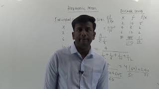 Harmonic Mean | Measures of Central Tendency | Learn Harmonic mean in Hindi easily| Basic stats|
