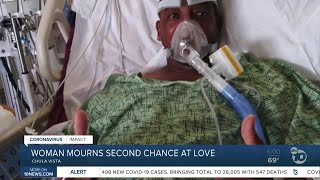 South Bay woman COVID-19 death of boyfriend, 'second chance' at love