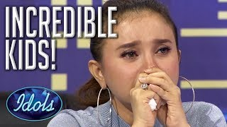 FANTASTIC KIDS  Incredible Indonesian Idol Junior Auditions  Idols Global